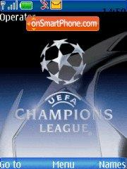 Champion League es el tema de pantalla