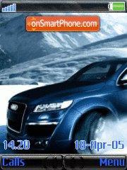 Audi Q7 tema screenshot