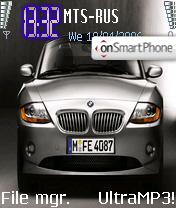 BMW Z4 theme screenshot