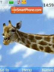 Giraffe theme screenshot