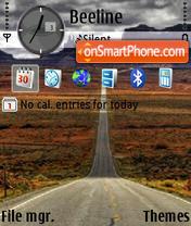 Скриншот темы Beautiful Road