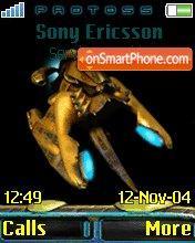 Protoss theme screenshot