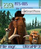 Ice Age 2 theme screenshot