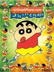 Shinchan theme screenshot