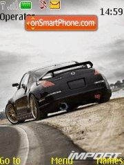 Nissan 350z 07 Theme-Screenshot