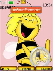 Maya the Bee es el tema de pantalla