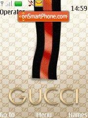 Скриншот темы Gucci 09