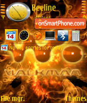 Walkman 08 theme screenshot