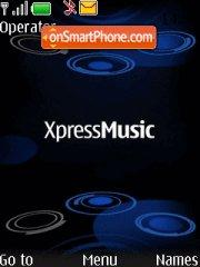 Nokia XpressMusic theme screenshot
