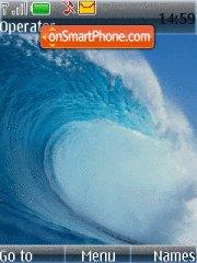 Blue waves theme screenshot