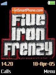 Five Iron Frenzy es el tema de pantalla