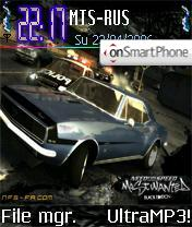 Need for Speed Most Wanted es el tema de pantalla