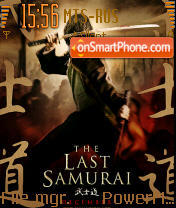 The Last Samurai 01 theme screenshot