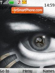 Скриншот темы Black Eye