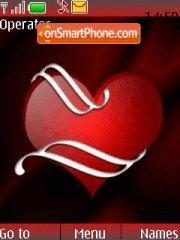 Love Red theme screenshot
