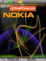 Colourful Nokia tema screenshot
