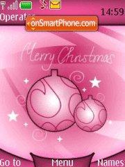 Merry Christmas theme screenshot