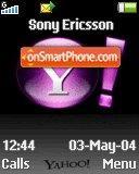 Yahoo 04 es el tema de pantalla