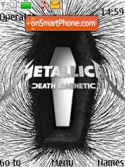 Death Magnetic theme screenshot