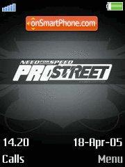 ProStreet es el tema de pantalla