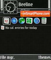 Net theme screenshot