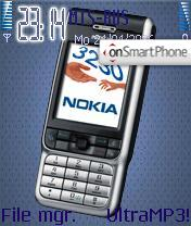 Theme Nokia 3230 theme screenshot