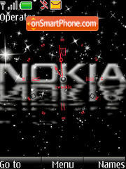 SWF black nokia theme screenshot
