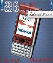 Theme Nokia 3230r theme screenshot