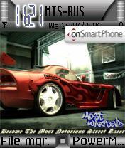 NFS Most Wanted es el tema de pantalla