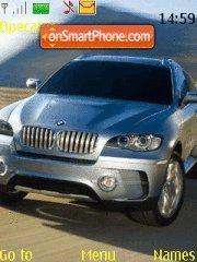 BMW X6 edit tema screenshot