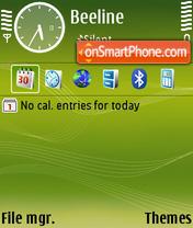 Скриншот темы N73 Default