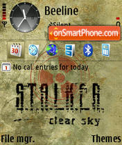 Stalker 12 theme screenshot