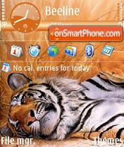 Скриншот темы Tiger 12