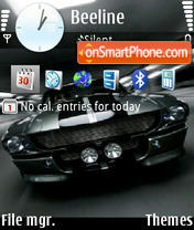 Mustang gt 03 theme screenshot