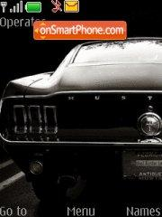 Ford Shelby GT 500 theme screenshot