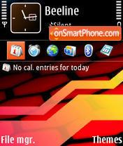 Red N-Gage theme screenshot