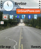 Roadcan theme screenshot
