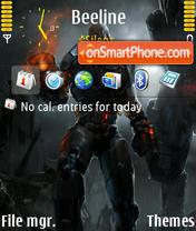 Quake4 01 theme screenshot