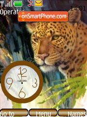 SWF clock leo Theme-Screenshot