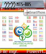 World Cup 2006 theme screenshot