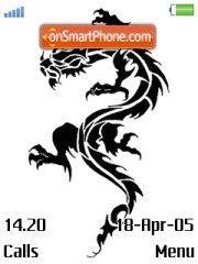 Dragon Black theme screenshot