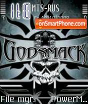 Godsmack tema screenshot