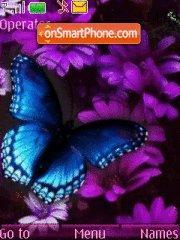 Flowers $ butterfly theme screenshot