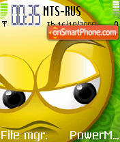 Angry theme screenshot