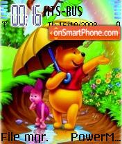 Pooh 17 theme screenshot