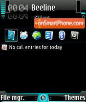 Mauikek B theme screenshot