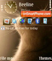 Cat default theme screenshot