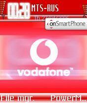 Vodafone Unofficial es el tema de pantalla