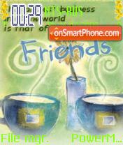 Friends 08 es el tema de pantalla