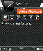 Скриншот темы Azenis